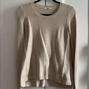 Madewell sweater - cream